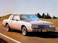 Chevrolet Monte Carlo, 1982, 4 поколение [рестайлинг], Купе
