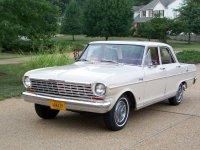 Chevrolet Nova, 1 поколение [2-й рестайлинг], Седан, 1964