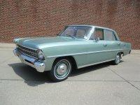 Chevrolet Nova, 1967, 2 поколение [рестайлинг], Седан