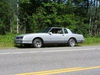 Chevrolet Monte Carlo, 4 поколение [3-й рестайлинг], Ss aerocoupe купе 2-дв., 1986–1988