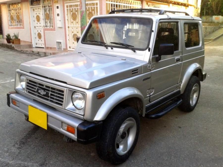 Chevrolet Samurai внедорожник, 1 поколение - отзывы, фото и характеристики на Car.ru