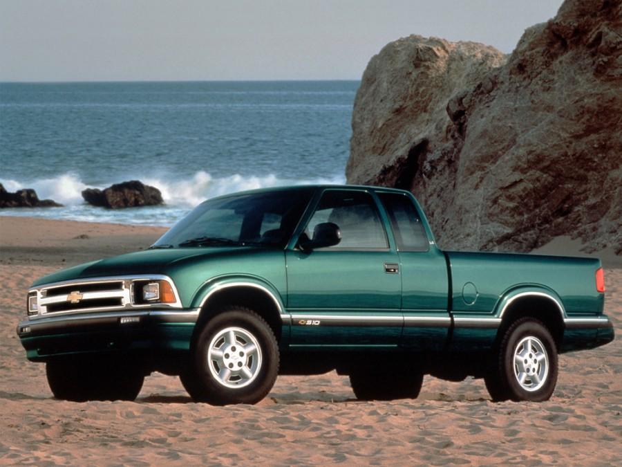 Chevrolet S10 Extended Cab пикап 2-дв., 1994–2012, 2 поколение - отзывы, фото и характеристики на Car.ru