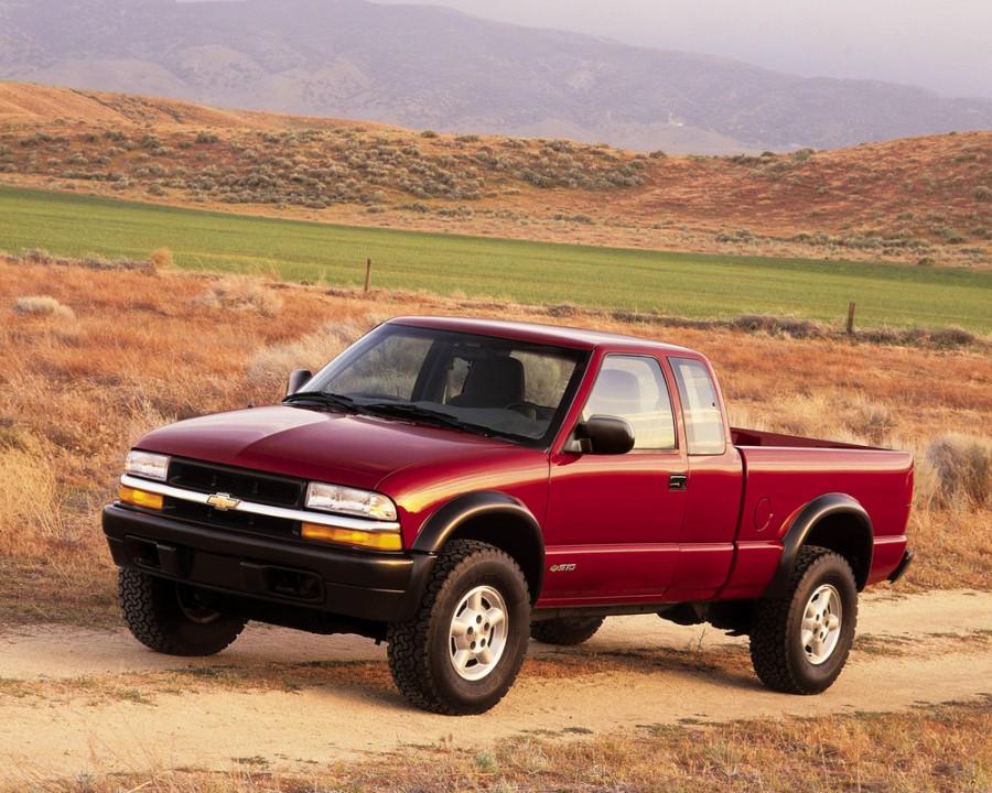 Chevrolet S10 Extended Cab пикап 2-дв., 1998–2004, 2 поколение [рестайлинг] - отзывы, фото и характеристики на Car.ru