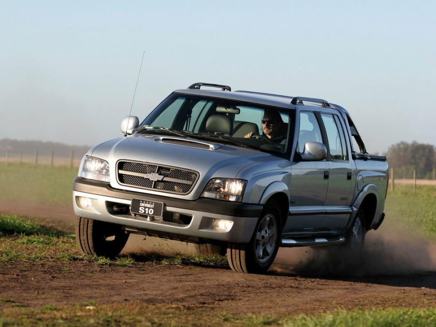 Chevrolet S10 Cabine Dupla BR-spec пикап 4-дв., 1994–2012, 2 поколение - отзывы, фото и характеристики на Car.ru