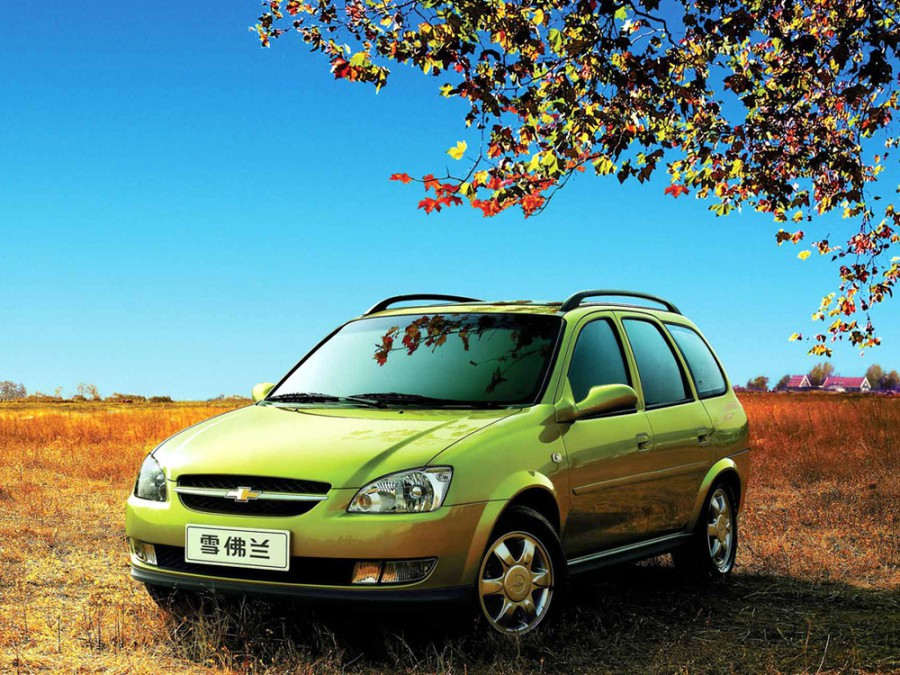 Chevrolet Sail универсал, 2005–2009, 1 поколение - отзывы, фото и характеристики на Car.ru