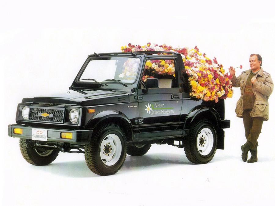 Chevrolet Samurai кабриолет, 1 поколение - отзывы, фото и характеристики на Car.ru