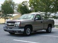 Chevrolet Silverado, GMT800 [рестайлинг], Regular cab пикап 2-дв., 2002–2007