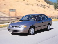 Chevrolet Prizm, 1 поколение, Седан, 1998–2002