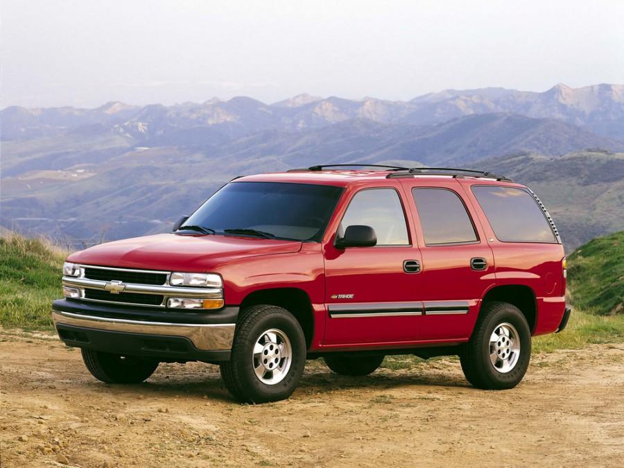 Chevrolet Tahoe внедорожник, 1999–2007, GMT800 - отзывы, фото и характеристики на Car.ru