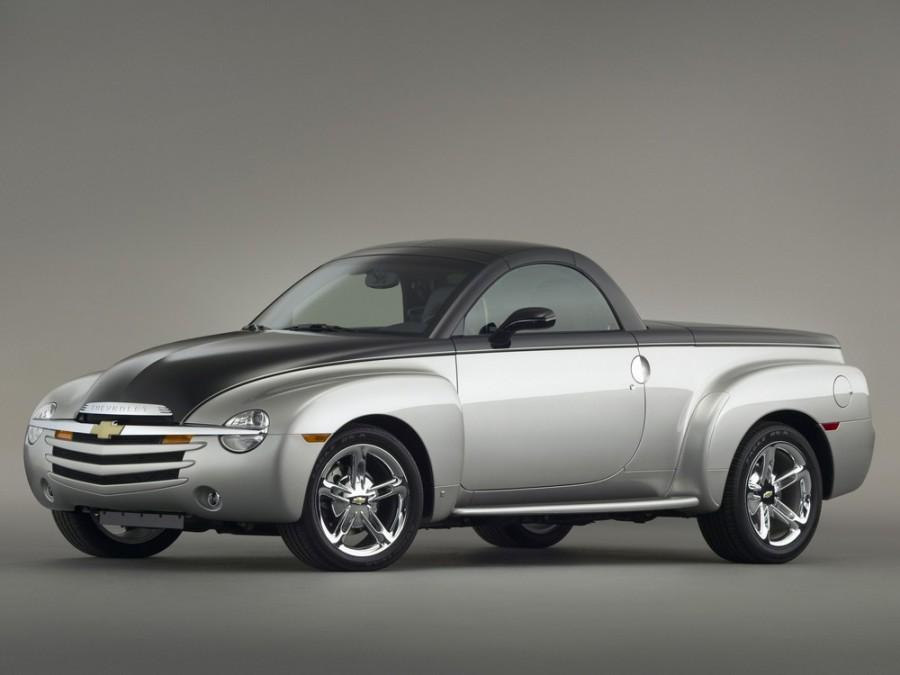 Chevrolet SSR пикап, 2003–2006, 1 поколение - отзывы, фото и характеристики на Car.ru
