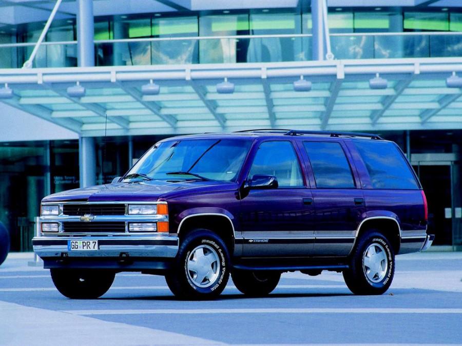 Chevrolet Tahoe внедорожник 5-дв., 1995–1999, GMT400 - отзывы, фото и характеристики на Car.ru