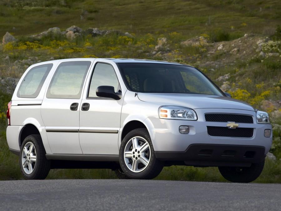Chevrolet Uplander Cargo фургон, 2005–2008, 1 поколение - отзывы, фото и характеристики на Car.ru