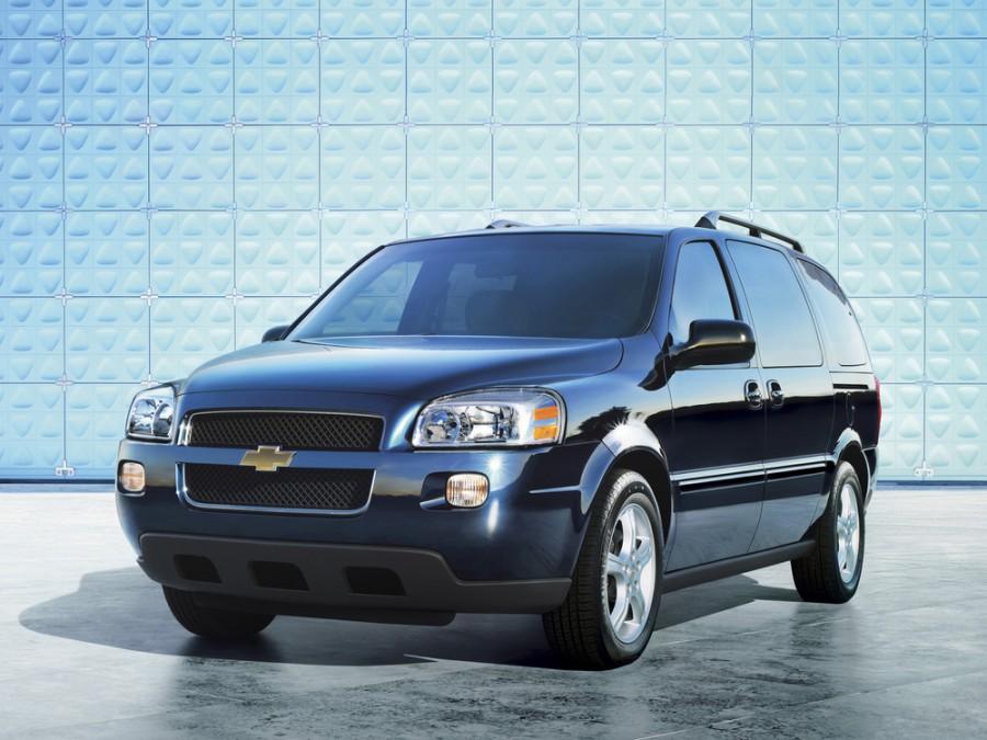 Chevrolet Uplander минивэн, 2005–2008, 1 поколение - отзывы, фото и характеристики на Car.ru