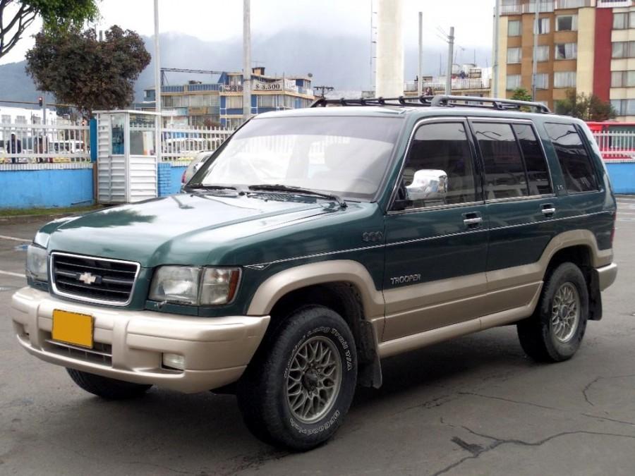 Chevrolet Trooper внедорожник 5-дв., 2 поколение - отзывы, фото и характеристики на Car.ru