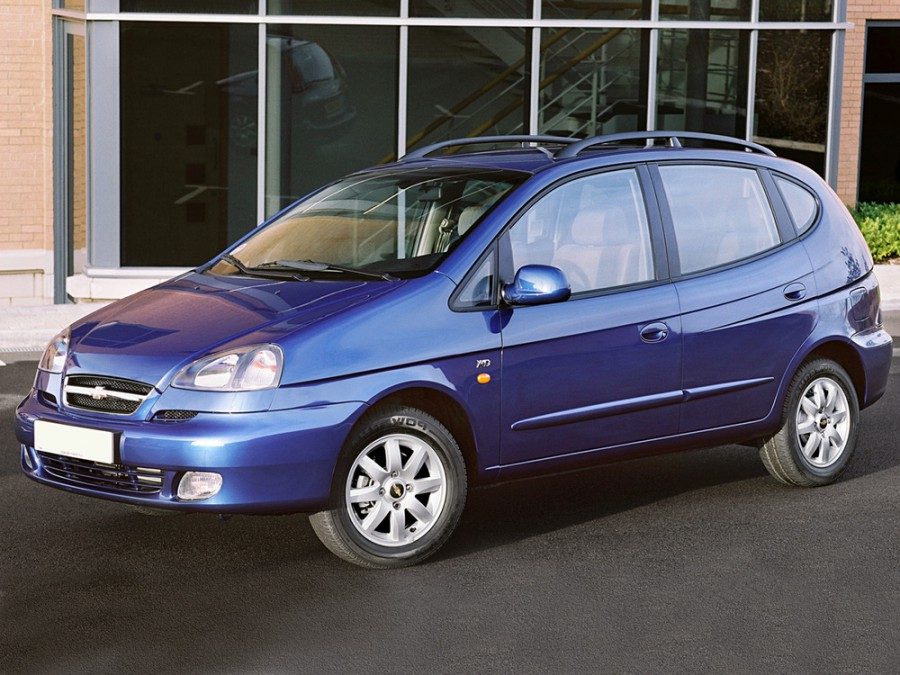 Chevrolet Tacuma минивэн, 2004–2008, 1 поколение - отзывы, фото и характеристики на Car.ru