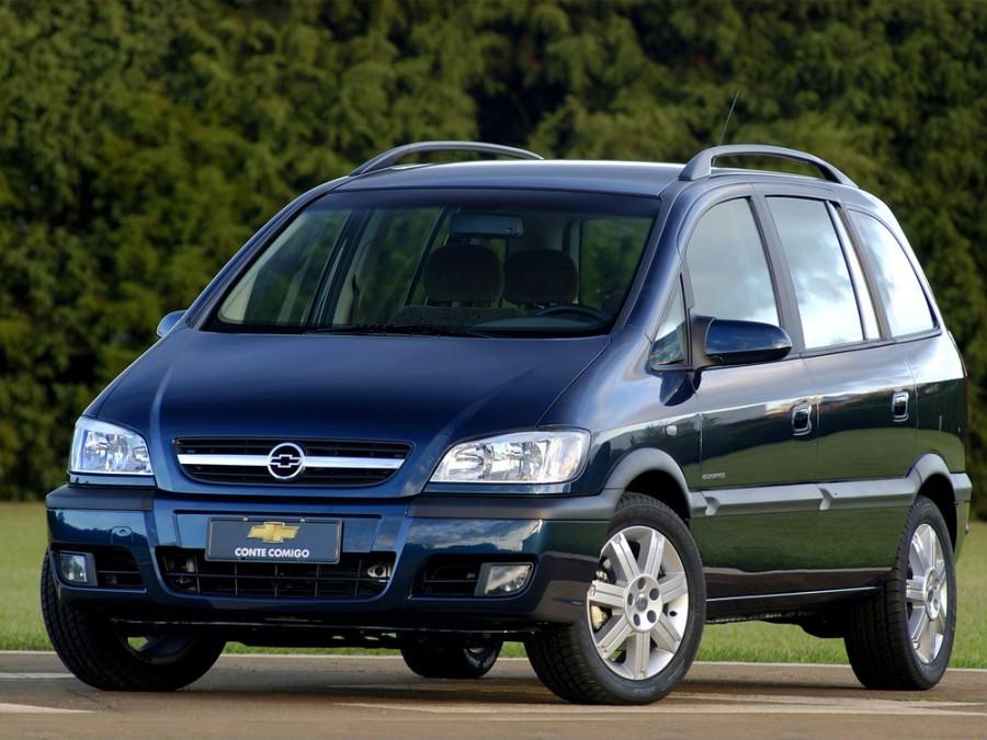 Chevrolet Zafira минивэн, 2004–2009, 1 поколение [рестайлинг] - отзывы, фото и характеристики на Car.ru