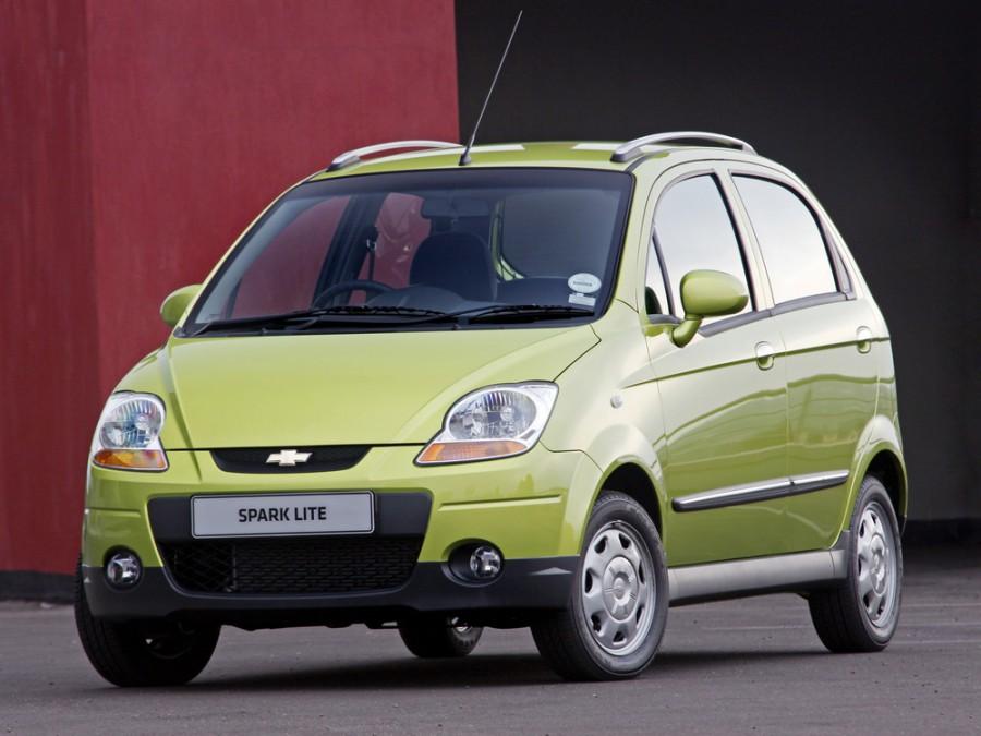 Chevrolet Spark хетчбэк, 2005–2007, M250 [рестайлинг] - отзывы, фото и характеристики на Car.ru