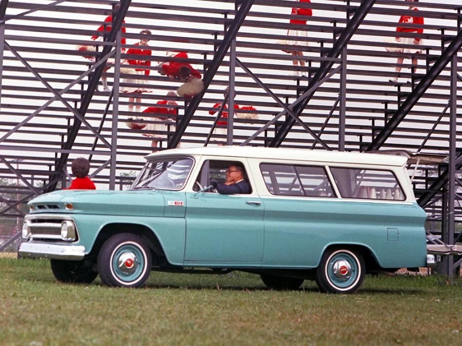Chevrolet Suburban внедорожник, 1963–1966, 6 поколение [рестайлинг] - отзывы, фото и характеристики на Car.ru