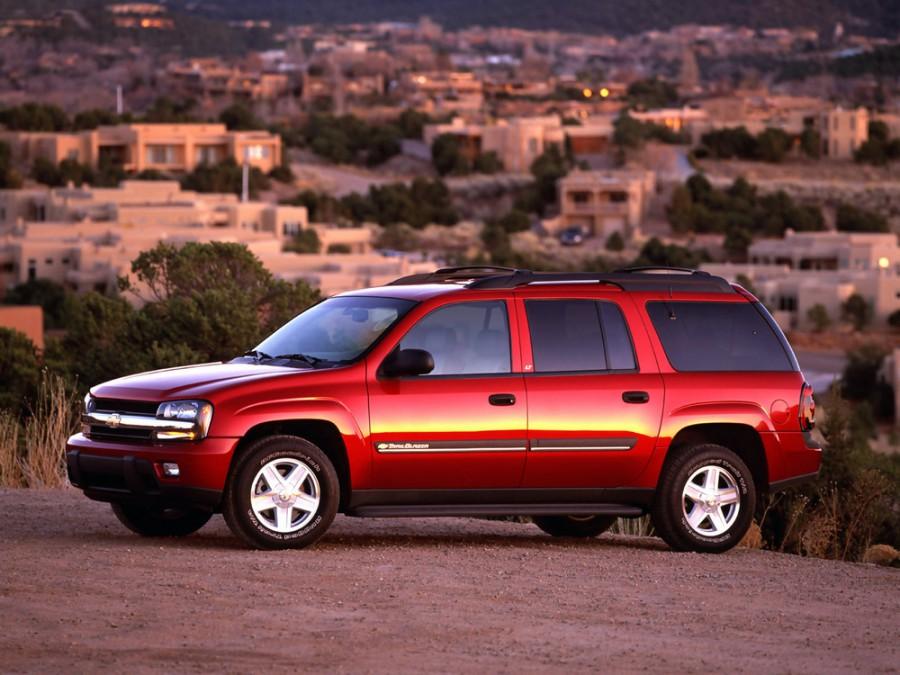 Chevrolet TrailBlazer EXT внедорожник 5-дв., 2002–2009, 1 поколение - отзывы, фото и характеристики на Car.ru