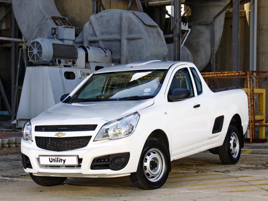 Chevrolet Utility пикап, 2011–2016, 1 поколение - отзывы, фото и характеристики на Car.ru