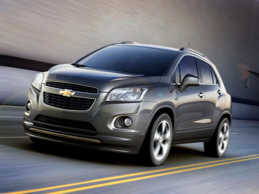 Chevrolet Tracker кроссовер, 2013–2016, 3 поколение - отзывы, фото и характеристики на Car.ru