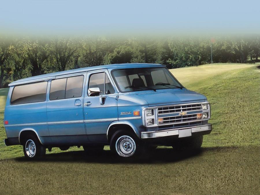 Chevrolet Van микроавтобус, 3 поколение - отзывы, фото и характеристики на Car.ru