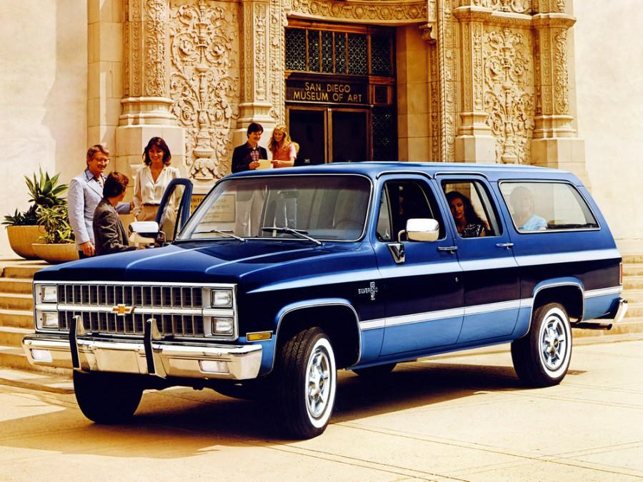 Chevrolet Suburban внедорожник, 1981–1988, 8 поколение [рестайлинг] - отзывы, фото и характеристики на Car.ru