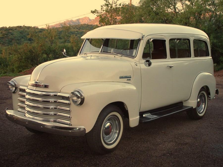 Chevrolet Suburban внедорожник, 1947–1955, 4 поколение - отзывы, фото и характеристики на Car.ru