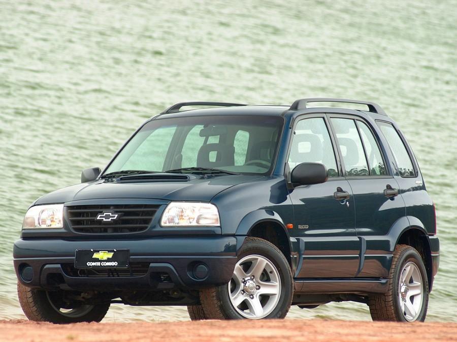 Chevrolet Tracker внедорожник, 2006–2009, 2 поколение [рестайлинг] - отзывы, фото и характеристики на Car.ru