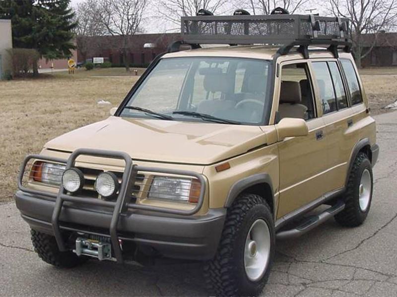 Chevrolet Tracker внедорожник, 1 поколение - отзывы, фото и характеристики на Car.ru