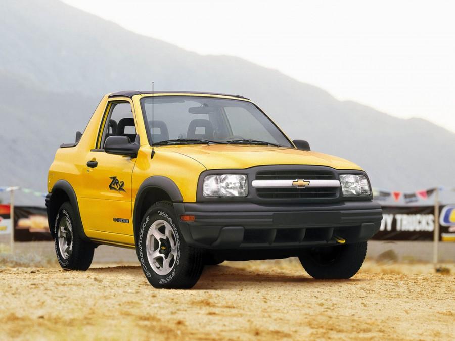 Chevrolet Tracker кабриолет, 1998–2004, 2 поколение - отзывы, фото и характеристики на Car.ru