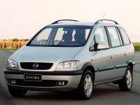 Chevrolet Zafira, 1 поколение, Минивэн, 2001–2004