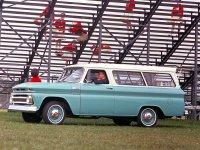 Chevrolet Suburban, 6 поколение [рестайлинг], Внедорожник, 1963–1966