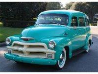 Chevrolet Suburban, 1955, 4 поколение [рестайлинг], Внедорожник