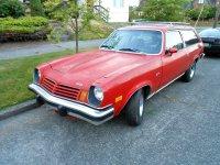 Chevrolet Vega, 1 поколение [рестайлинг], Универсал, 1973–1977