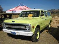 Chevrolet Suburban, 7 поколение, Внедорожник, 1967–1970