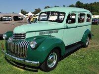 Chevrolet Suburban, 3 поколение, Внедорожник, 1941–1946