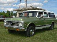 Chevrolet Suburban, 7 поколение [рестайлинг], Внедорожник, 1971–1972