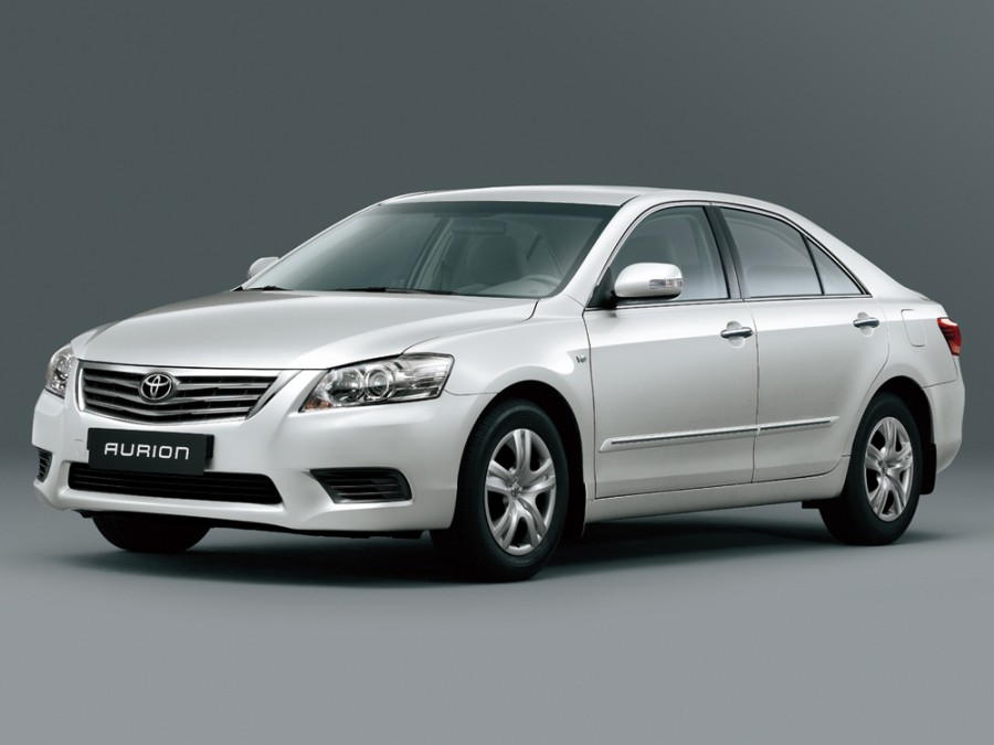 Toyota Aurion седан, 2009–2012, XV40 [рестайлинг] - отзывы, фото и характеристики на Car.ru