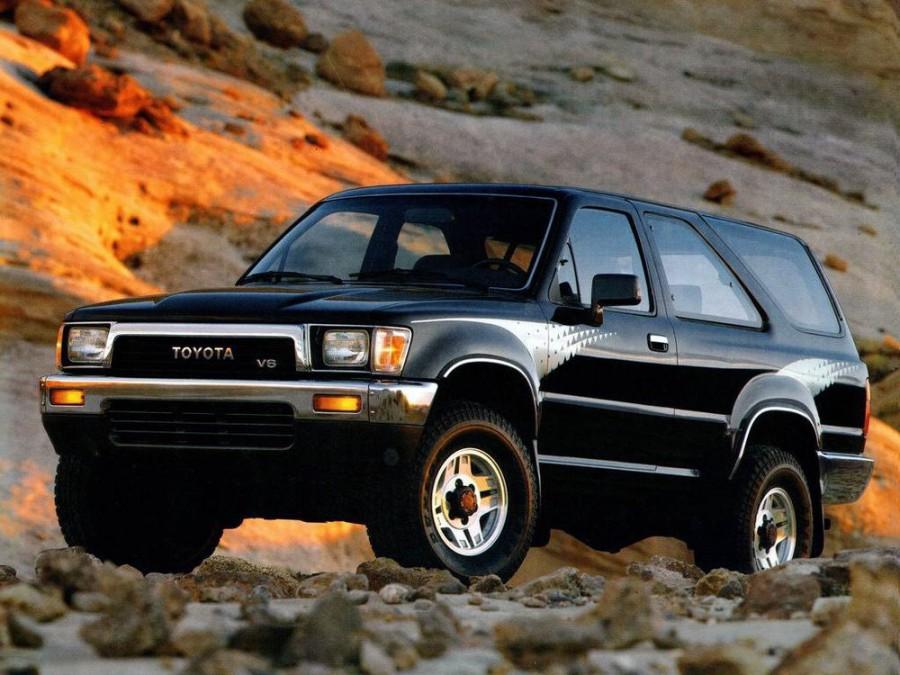 Toyota 4Runner внедорожник 3-дв., 1989–1995, 2 поколение - отзывы, фото и характеристики на Car.ru