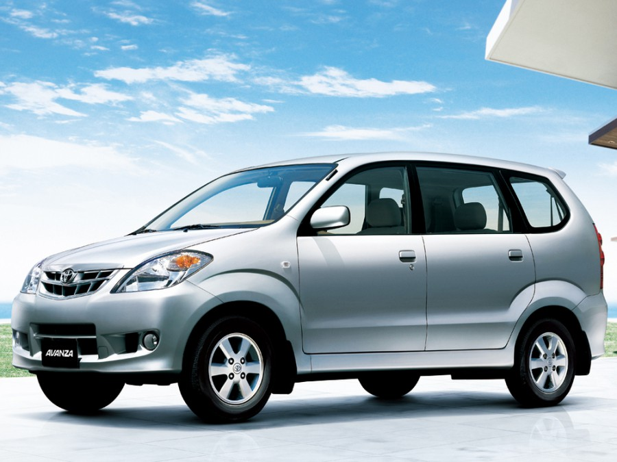 Toyota Avanza минивэн, 2006–2011, 1 поколение [рестайлинг] - отзывы, фото и характеристики на Car.ru