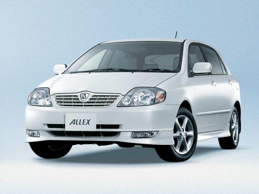 Toyota Allex, Алдан