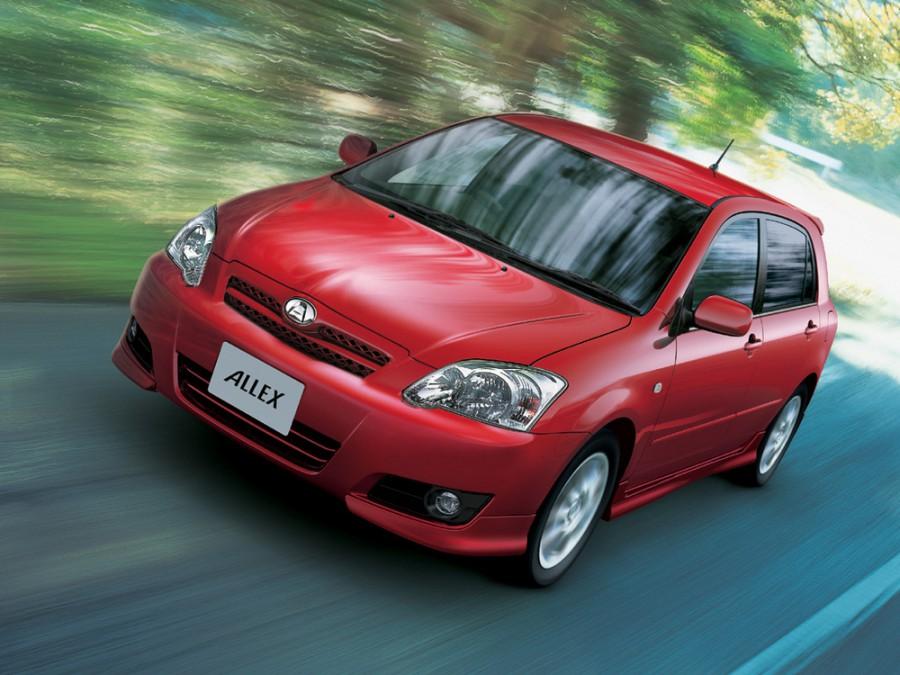 Toyota Allex хетчбэк, 2004–2006, E130 [2-й рестайлинг] - отзывы, фото и характеристики на Car.ru
