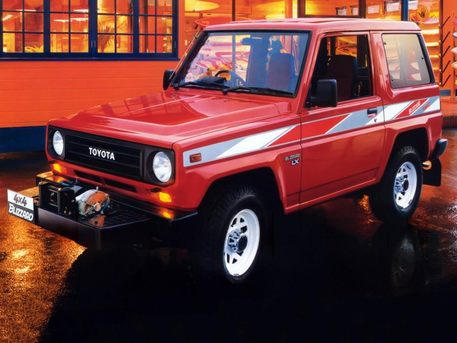 Toyota Blizzard внедорожник, 1984–1990, LD20 - отзывы, фото и характеристики на Car.ru