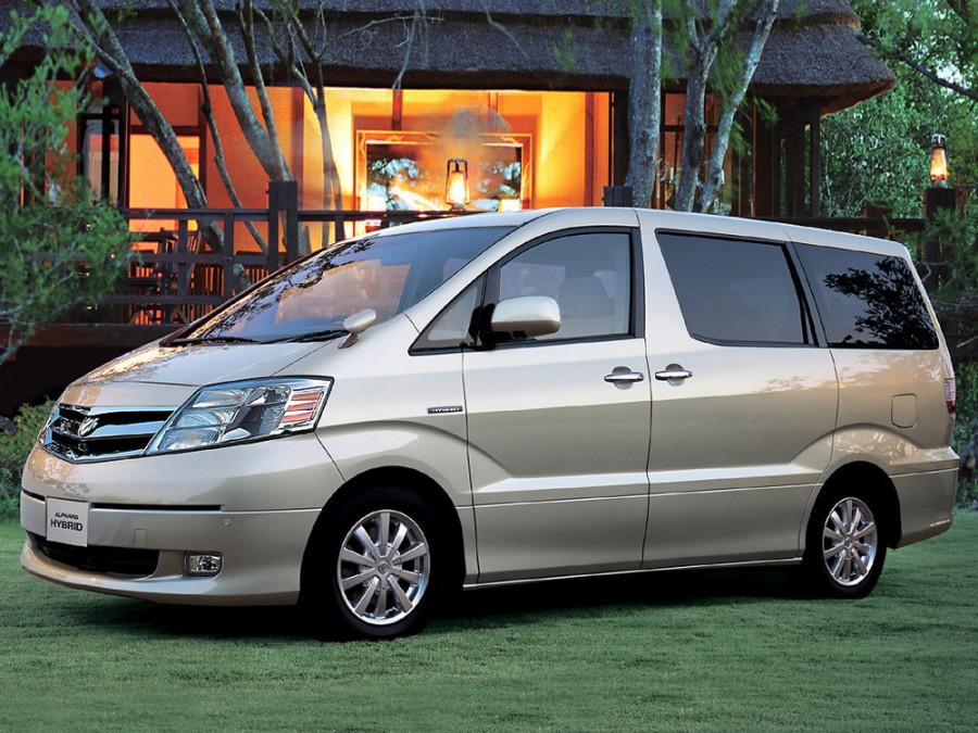 Toyota Alphard Hybrid минивэн 5-дв., 2002–2008, 1 поколение - отзывы, фото и характеристики на Car.ru
