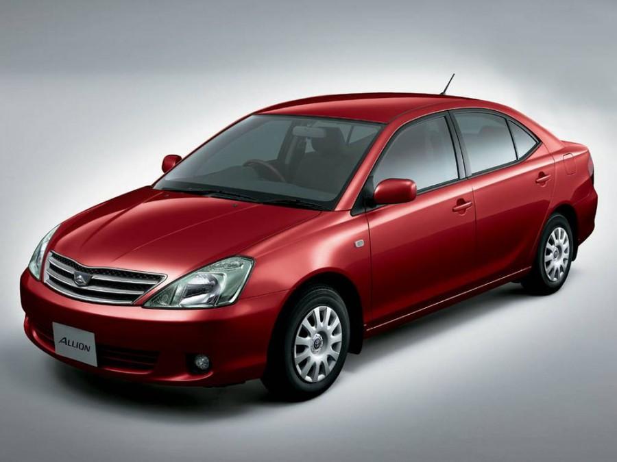 Toyota Allion, Бада