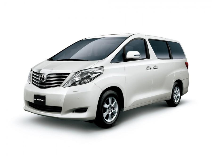Toyota Alphard минивэн, 2008–2011, 2 поколение - отзывы, фото и характеристики на Car.ru