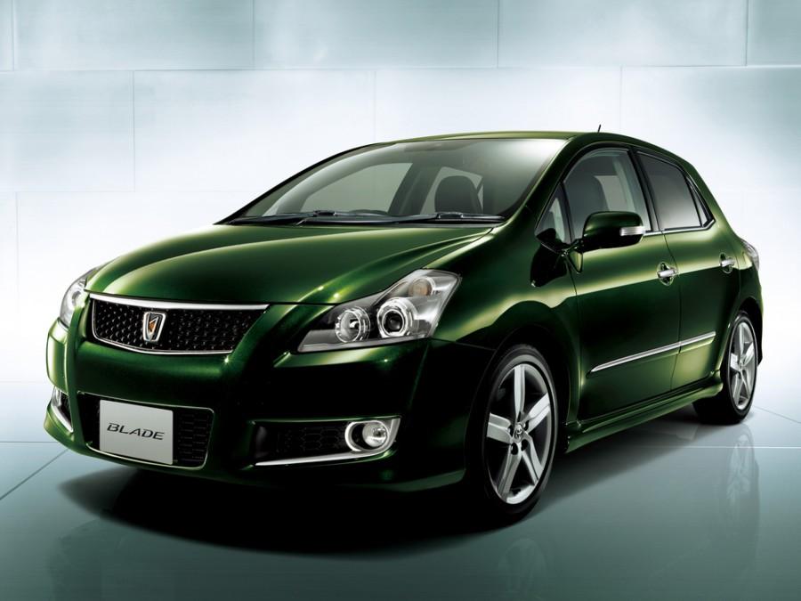 Toyota Blade хетчбэк, 2009–2016, 1 поколение [рестайлинг] - отзывы, фото и характеристики на Car.ru