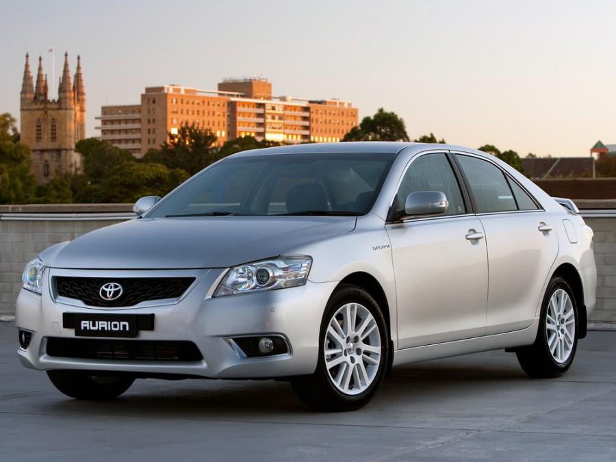 Toyota Aurion AU-spec. седан 4-дв., 2009–2012, XV40 [рестайлинг] - отзывы, фото и характеристики на Car.ru