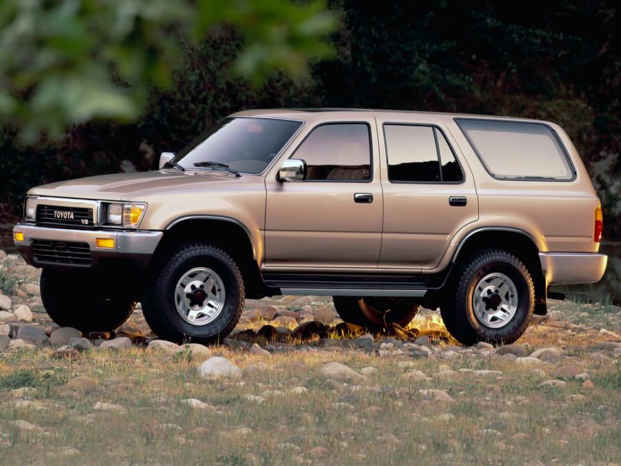 Toyota 4Runner внедорожник 5-дв., 1989–1995, 2 поколение - отзывы, фото и характеристики на Car.ru